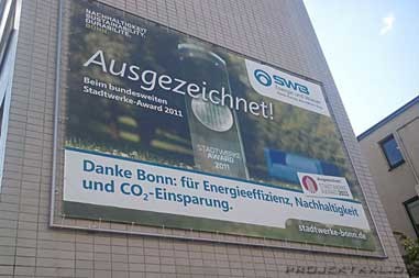 Meshbanner per Digitaldruck in Alu Rahmen